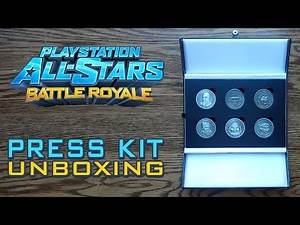 PlayStation All-Stars Battle Royale Coins Press Kit Unboxing & Review - HD 1080p