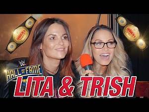 Trish Stratus and Lita on Retirement, Main Event, and Gimmick Matches | Top 5 Team Bestie Moments