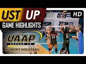 UP vs UST | Game Highlights | UAAP 79 WV | February 19, 2017