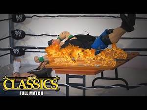 BARBED WIRE MASSACRE MATCH (WWE Figures Stop Motion)   No Limits Wrestling: Classics (Episode 12)