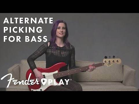 Learn Alternate Picking for Bass | Fender Play | Fender