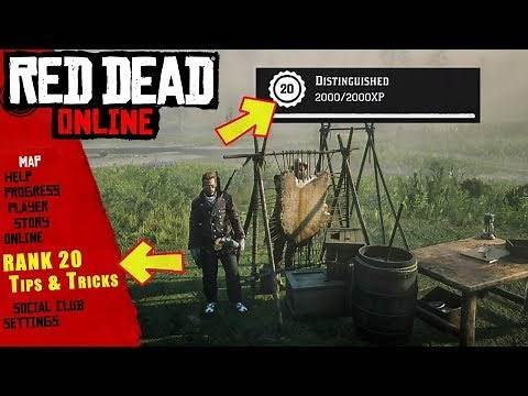 TRADER RANK 20 TIPS AND TRICKS TO LEVEL UP FAST IN RED DEAD ONLINE