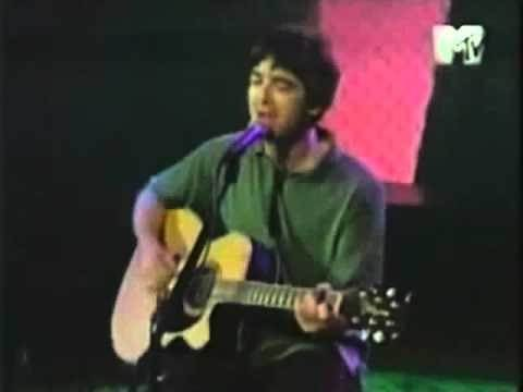 Noel Gallagher (Oasis) - Don't Go Away (acoustic MTV 1998)