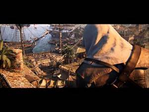 Assassin's Creed IV Black Flag Pirates Of The Caribbean Theme song He's a pirate, He's a Assassin