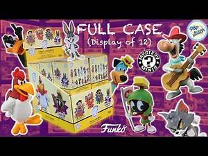 Warner Brothers Classic Cartoons Mystery Minis UNBOXING | Full Case (Display of 12)