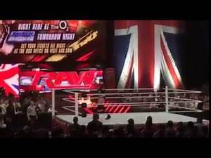 20 WWE RAW London 19 5 2014 Segment after RAW went off the air