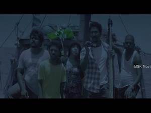 Gokulanth In Search Of Ghost Ship In Sea - Aaaah (2014) Tamil Horror Movie Scenes