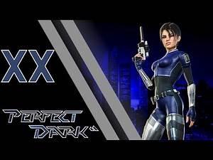 Let's Play Perfect Dark - Bonus - The Firing Range #2 - Part 2