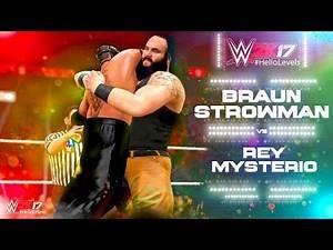 WWE 2K17 Rey Mysterio vs Braun Strowman   PS4 Gameplay