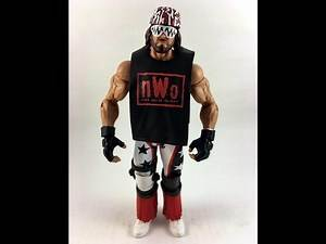 WWE Mattel Custom Nwo Macho Man Randy Savage