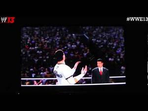 WWE '13 Unboxing, Overview and Gameplay | CM Punk V.S Stone Cold Steve Austin!