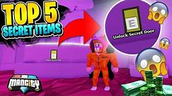 5 NEW *SECRET* ROBLOX MAD CITY ITEMS AND LOCATIONS! (Codes)