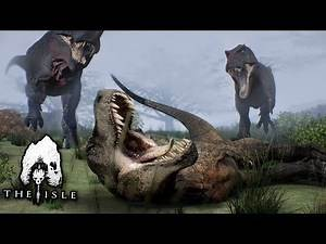 The End of a Life!! - Life of a T.rex | The isle - Finale