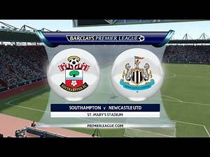 FIFA 16 - Southampton vs. Newcastle United @ St. Mary's Stadium