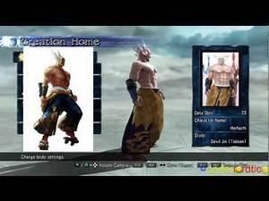 Soul Calibur 5 - Tekken HEIHACHI Character Creation