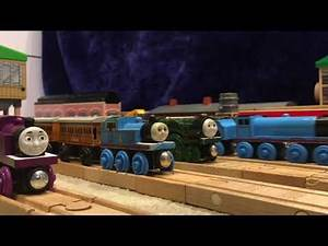 American Dad Intro, But Made with Wooden Railway. (Parody)
