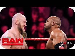 FULL MATCH - Lars Sullivan vs. Triple H : Raw, May 8, 2019 - Ep. 47