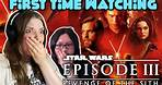 First Time Watching 'Star Wars Episode III: Revenge of The Sith'   Movie Review & Reaction  
