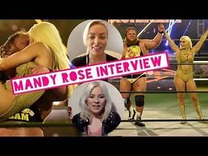 WWE's Mandy Rose on Otis winning Money in the Bank, CM Punk, Becky Lynch's pregnancy and Total Divas