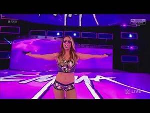 EMMA NEW ENTRANCE / THEME SONG - WWE RAW September 04. 2017