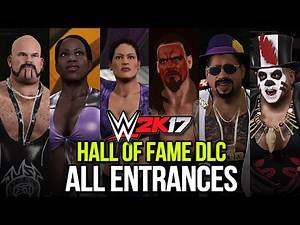 WWE 2K17: All Hall of Fame DLC Entrances (Singles, Tag Team & Trio!) #WWE2K17DLC