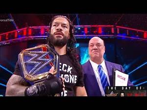 WWE PayBack 2020 - Review ROMAN REIGNS Big DAWG 8/30/2020