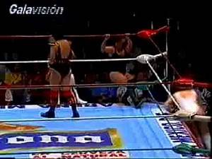 Mexican 6 woman tag from the early 90s: Part 2 of 3