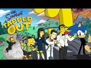 Lorcan the Hedgehog Let's Play: The Simpsons Tapped Out Part 138 (Spy Event Finale)