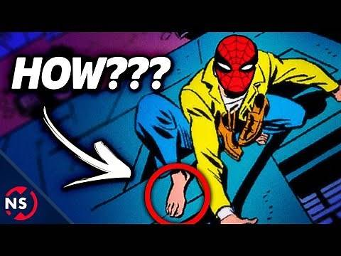 How Can SPIDER-MAN Stick to Walls with Shoes On? || NerdSync