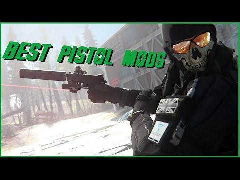 Fallout 4 - Top 5 Pistol Mods (PC)