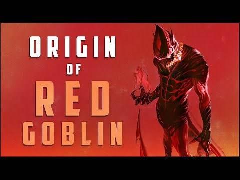 Origin of Red Goblin (Carnage Goblin Hybrid)