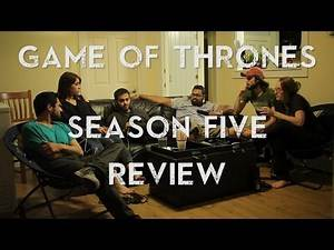 Game of Thrones - Season 5 - Group Review