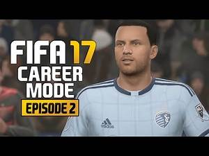 FIFA 17 - Career Mode Ep. 2 - First Game!