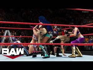 WWE 2K20 RAW WOMENS TAG TEAM CHAMPIONSHIP MATCH | TRIPLE THREAT TLC MATCH
