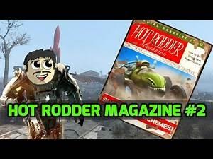 Fallout 4 Collectibles : Hot Rodder Magazine #2 (Shark Job)