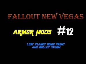 Fallout New Vegas Armor Mods:Lost Planet, Homefront, Bulletstorm, and Dead Space