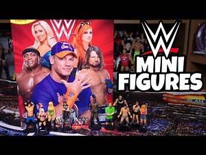 WWE ACTION FIGURES & PLAYMAT PACK!!!