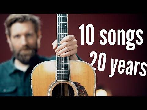 10 ACOUSTIC SONGS that taught me guitar (easy to hard)
