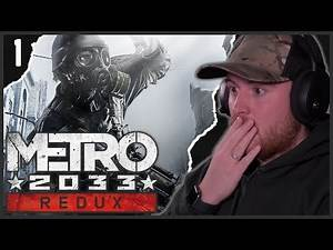 Royal Marine Plays METRO 2033 For The First Time! PART 1!