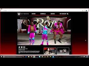 TheSkypeShow: WWE Royal Rumble: 2016 New Day vs The Usos Live Reactions