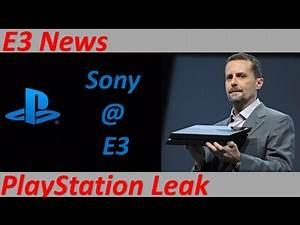 PS4 E3 2016 LEAKED NEWS & INFO | Sony E3 2016 PS4 Teases | Sucker Punch, Bend, Japan, Santa Monica