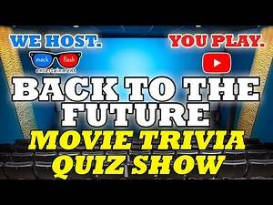 """Play a """"Back to the Future"""" Quiz Show! - Mack Flash Trivia Quickies"""