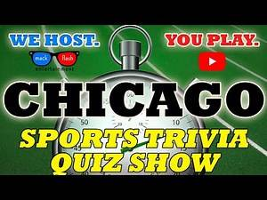 "Play a ""Chicago Sports"" Quiz Show! - Mack Flash Trivia Quickies"