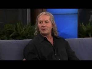 Bret Hart gets mad over HHH's video game stats
