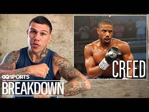 Pro Boxer Gabriel Rosado Breaks Down Boxing Scenes from Movies   GQ Sports
