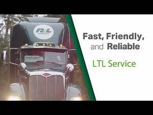 Fast, Friendly and Reliable Less than Truckload (LTL) Services