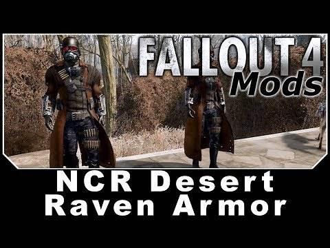 Fallout 4 Mods - NCR Desert Raven Armor