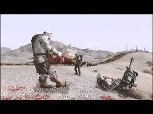 Fallout New Vegas Mods: Overgrowth ENB, Monster Wars, Metro weapons and armor