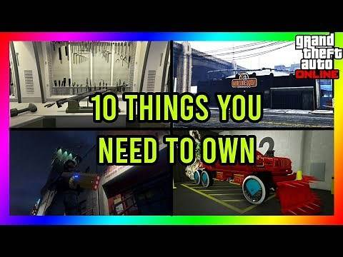 GTA 5 - 10 THINGS YOU NEED TO OWN TO MAKE MONEY AND HAVE FUN IN GTA 5 ONLINE!!
