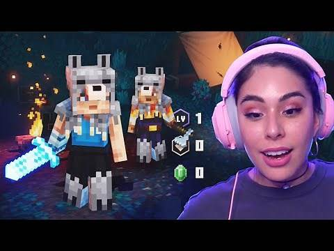 This Game is SO GOOD! Minecraft Dungeons Beta!